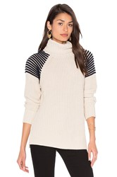 525 America Turtleneck Sweater Cream
