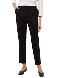Jaeger Wool Narrow Leg Trousers Black