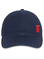 Burberry Monogram Motif Baseball Cap Blue