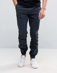 French Connection Cuffed Stretch Skinny Chino Navy