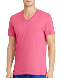 Polo Ralph Lauren Jersey V Neck Tee Pack Of 3 Pink Blue Navy
