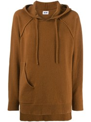 Each X Other Deconstructed Hoodie Brown