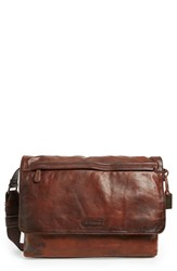 Men's Frye 'Tyler' Messenger Bag Brown Whiskey