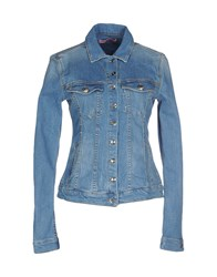 Fornarina Denim Denim Outerwear Women Blue