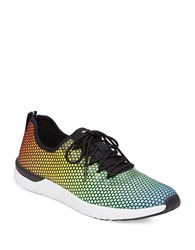 Jessica Simpson Farahh Colorful Ombre Sneakers Multi Colored