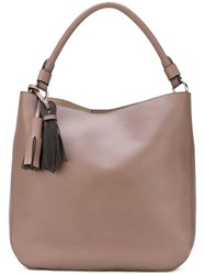Max Mara Bucket Tote Leather Brown