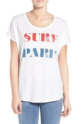 Women's Signorelli 'Surf Paris' Scoop Neck Tee