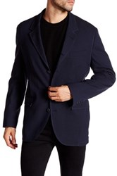 Robert Graham Silverjack Woven Sport Coat Blue