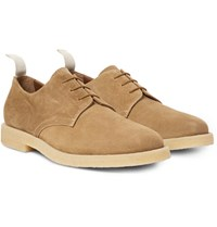 Common Projects Cadet Suede Derby Shoes Beige