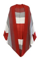 Do Everything In Love Colorblock Shrug Red