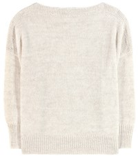 Etoile Isabel Marant Grace Alpaca Wool And Linen Blend Sweater Neutrals