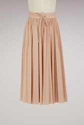Red Valentino Pleated Skirt Cameo