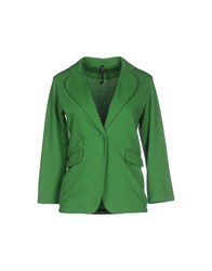 Manila Grace Suits And Jackets Blazers Women Green