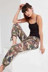 Urban Outfitters Uo Authentic Camo Cargo Pant