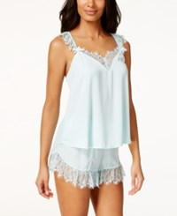 Betsey Johnson Lace Trim Tank And Shorts Set 7311113 Betty Blue