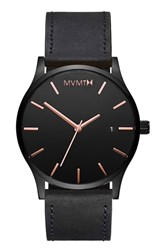Mvmt The Classic Leather Strap Watch 45Mm