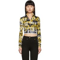 Versace Jeans Couture Black Sprous Baroque Sweatshirt