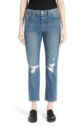 Frame Women's Le Original Distressed High Rise Jeans