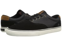 Emerica The Provost Slim Vulc Black Brown Men's Skate Shoes