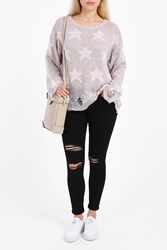 Wildfox Couture Women S Seeing Stars Knit Sweater Boutique1 Lilac Down