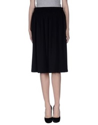 Angela Mele Milano 3 4 Length Skirts Black