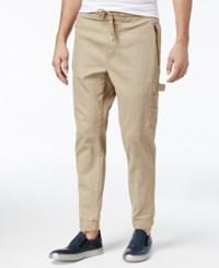 American Rag Men's Carpenter Pants Only At Macy's Rustic Khaki