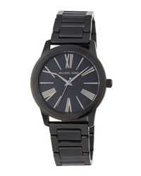 Michael Michael Kors 38Mm Hartman Bracelet Watch Black