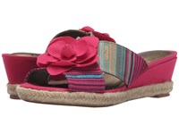 Lifestride Omega Pink Multi Women's Flat Shoes
