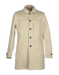 Mario Matteo Coats And Jackets Full Length Jackets Men Beige