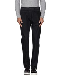 Armani Collezioni Denim Denim Trousers Men Black