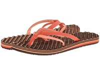The North Face Base Camp 5 Point Emberglow Orange Punch Orange Women's Sandals