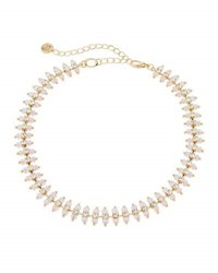 Lydell Nyc Dainty Glass Crystal Choker Necklace