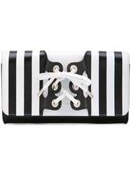 Perrin Paris Le Mini Corset Clutch Black