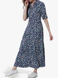 Joules Carla Maxi Dress French Navy