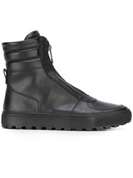Bikkembergs Zipped Boots Black