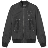 Undercover The New Warriors Pint Bomber Jacket Black