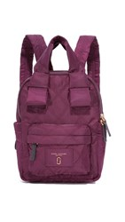 Marc Jacobs Nylon Knot Backpack Plum