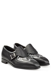 Rupert Sanderson Romany Leather Loafers Black