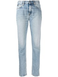 Calvin Klein Jeans Faded Slim Fit Blue