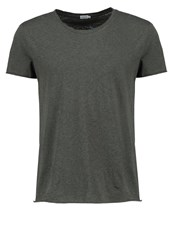 Filippa K Basic Tshirt Air Force Melange Khaki