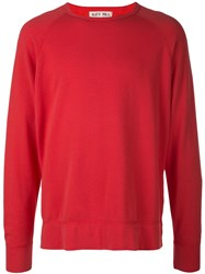 Alex Mill Relaxed Fit Sweatshirt Red