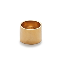 J.Crew Hammered Ring Gold