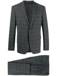 Tonello Two Piece Fitted Suit Grey