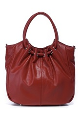 Foley And Agamo Celia Leather Handbag Red