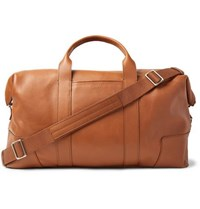 Shinola Full Grain Leather Holdall Brown
