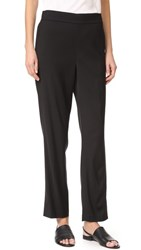 Vince Pleated Pull On Track Trousers Black