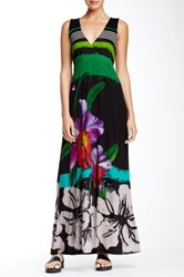 Desigual Cutout Maxi Dress Black