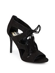 Vince Camuto Manders Suede Lace Up Pumps Nero