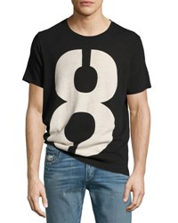 Rag And Bone Number 8 Crewneck T Shirt Black
