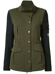 Veronica Beard Military Jacket Green